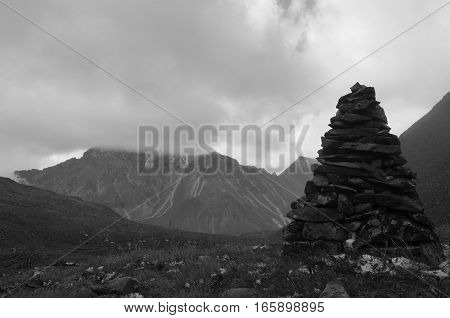 The Harsh And Majestic Sayan Mountains.