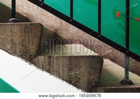Old Building Stairways
