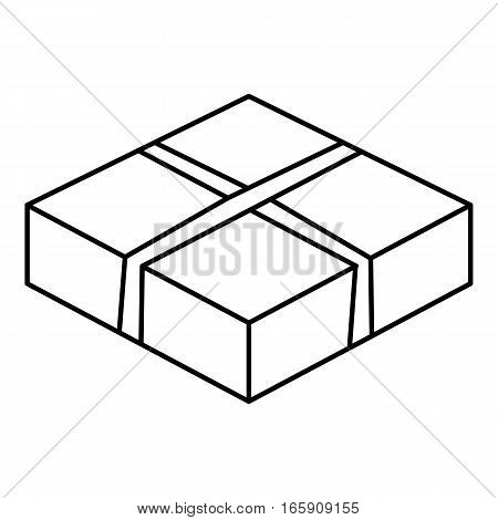 Level box icon. Outline illustration of level box vector icon for web