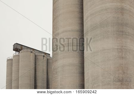 Grain Tanks Abstract