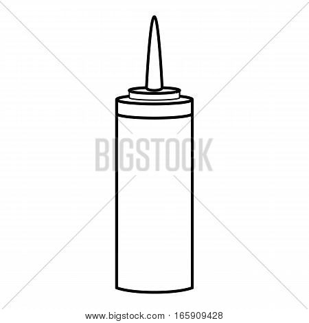 Soap dispenser icon. Outline illustration of soap dispenser vector icon for web