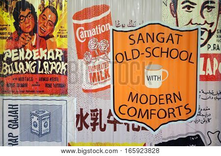 Chinese Retro And Vintage Advertising Posters