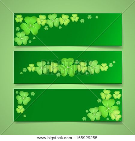 Decorative St. Patrick's Day Banners