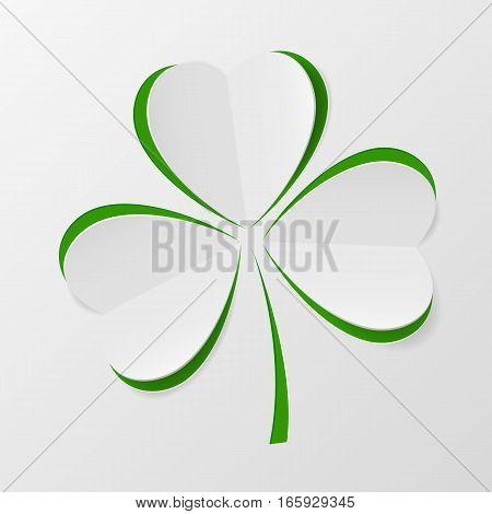 Illustration Of Clover Leaf