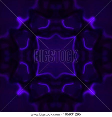 Violet and black mgic glow glowing pattern background