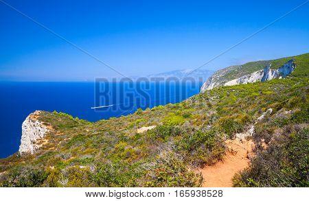 Navagio Bay, Greece, Coastal Landscape