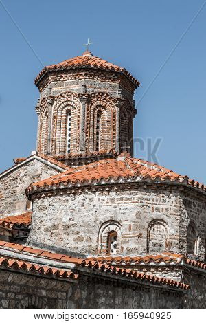 Very old monestery of St.Naum in city of Ohrid