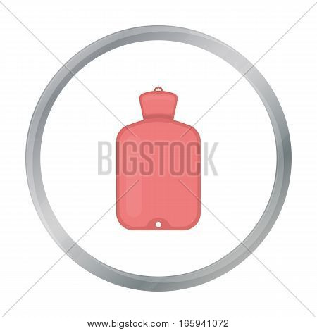 Warmer icon cartoon. Single medicine icon from the big medical, healthcare cartoon. - stock vector