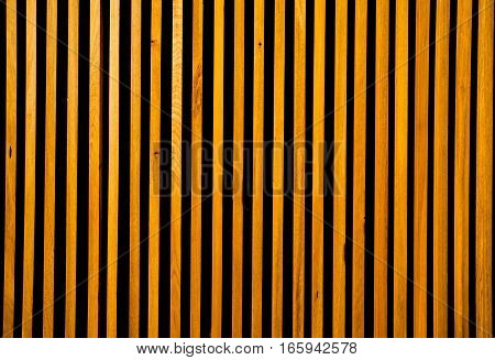 The closeup of the pattern of wooden baluster background.