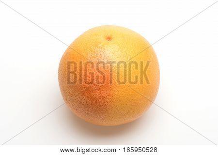 Orange Or Grapefruit Isolated On White