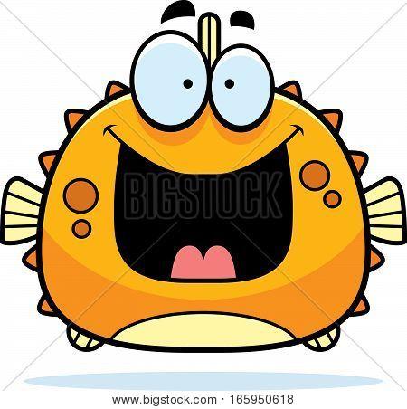 Happy Little Blowfish