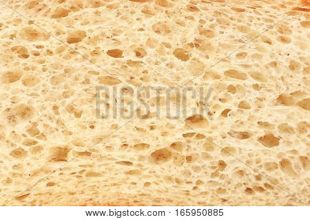 Bread texture close up. Patterns of white bread.