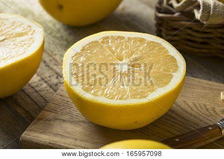 Raw Organic White Grapefruit