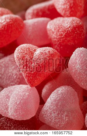 Sweed Red Heart Shaped Candy