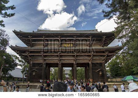 Todaiji Temple In Nara, Japan