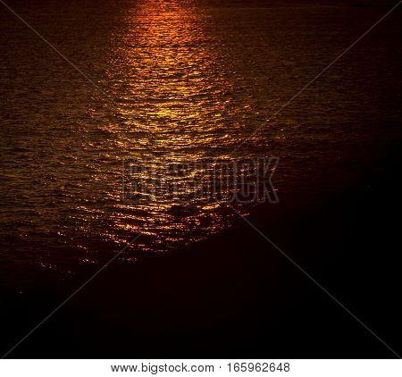 Sunrise on the Atlantic ocean in Nova Scotia