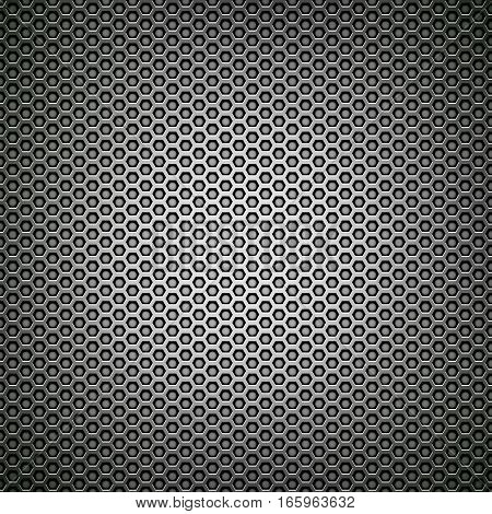 black mesh metal grill texture closeup detail