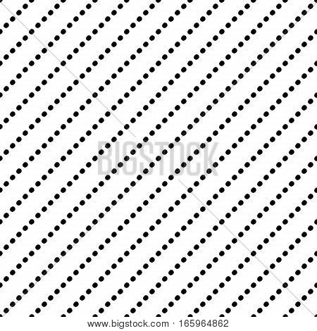 Abstract stripe pattern with trendy dots. Cute vector black and white stripe pattern. Seamless monochrome diagonal stripe pattern for fabric, wallpapers, wrapping paper, cards and web backgrounds.