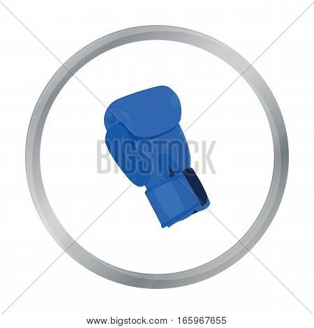 Boxing glove icon cartoon. Single sport icon from the big fitness, healthy, workout cartoon. - stock vector