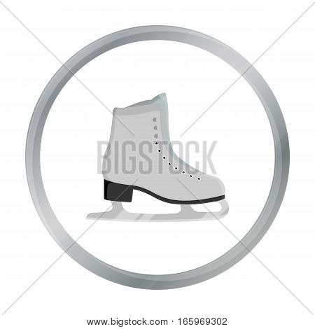 Skates icon cartoon. Single sport icon from the big fitness, healthy, workout cartoon. - stock vector