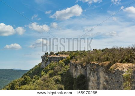 Cupations plateau of the Crimean mountains and the valley ashlama-Dere