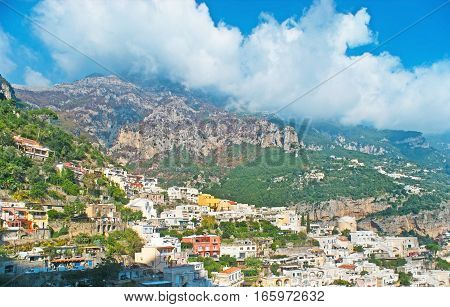 The Clouds Over Positano
