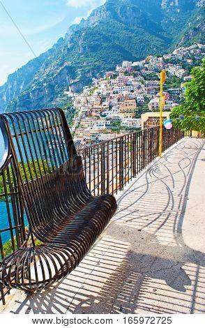 The Slopes Of Positano