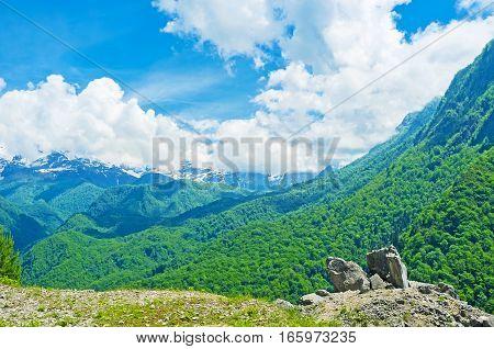 The Mountains Of Upper Svaneti