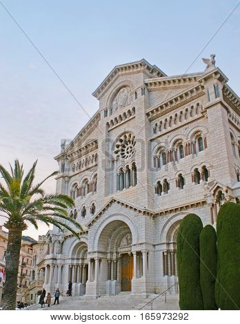 The Cathedral Of Monaco