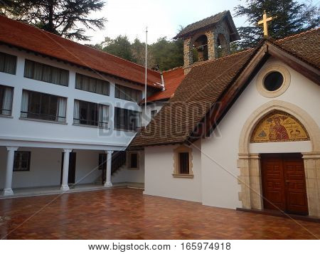 Trooditissa Monastery In Troodos Mountains