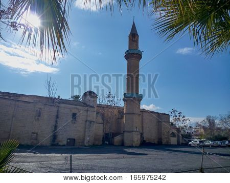 A Mosque In Nicosia City