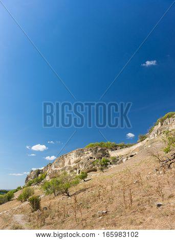 The southern slopes of Calais. Bakhchysaray Crimea