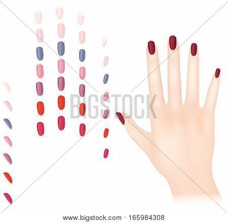 Hand-female-nails
