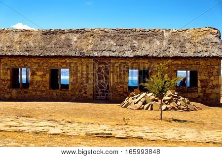 Building On Island Of The Sun