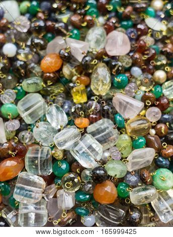 Placer sparkling gems at the Istanbul bazaar