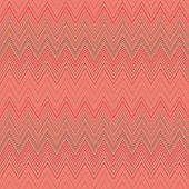 Seamless zigzag hatch pattern. Geometric stripy background. Wedged, striped, line lace texture. Stockings, lingerie, hosiery, garter, undies material theme. Rosy, beige soft colored. Vector poster