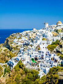 Hdr Oia Ia In Greece