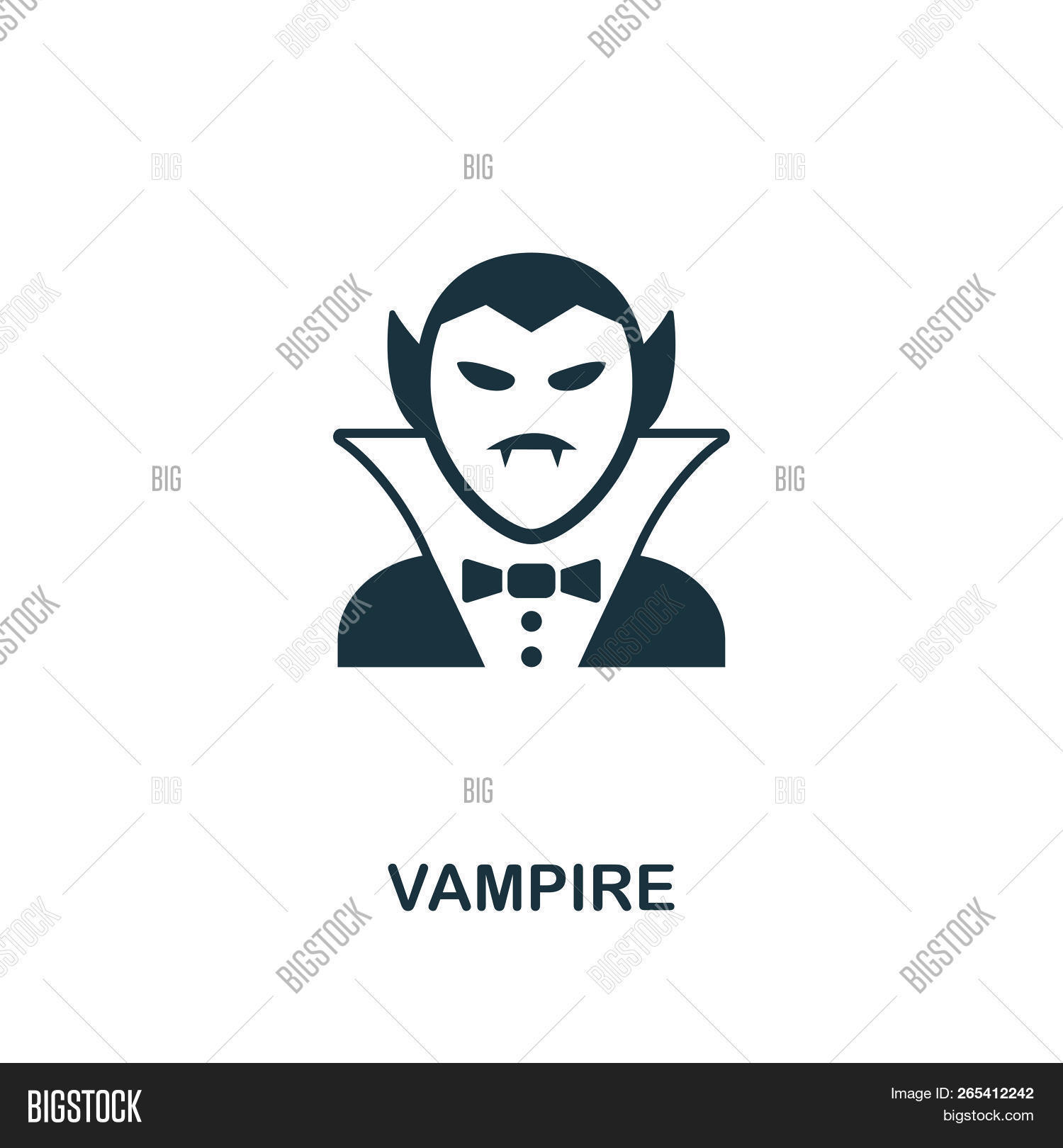 Vampire Icon Premium Image Photo Free Trial Bigstock