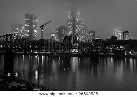 Skyline Frankfurt Main in Germany