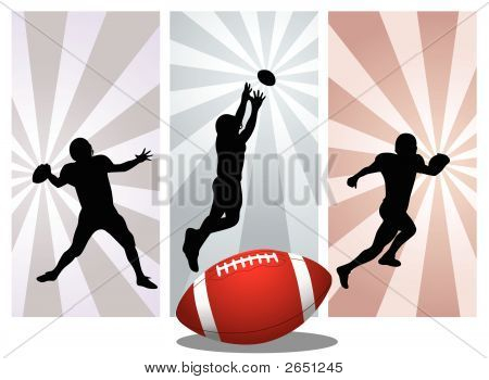 American Football Player - Vcetor
