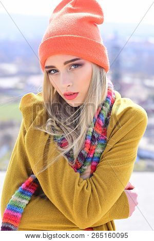 Fashion Portrait Of Woman. Woman Maintaining Fashion Blog. Hipster Woman With Fashion Makeup. Beauty