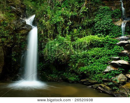The Beauty Of A Waterfall