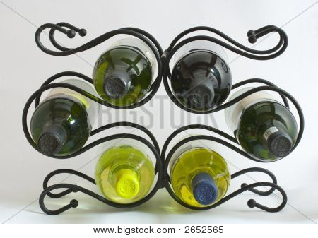 Wine Rack With Bottles Img_5448 Copy