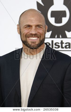 LOS ANGELES - AUG 3: Randy Couture at the Screening of 'The Expendables' held at Grauman's Chinese Theater on August 3, 2010 in Los Angeles, California