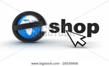 Earth And E-shop