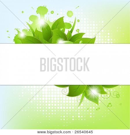 Abstract Background With Blots, Vector Illustration