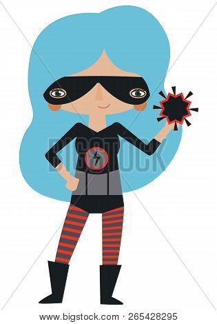 Superheroine Images, Illustrations & Vectors (Free) - Bigstock