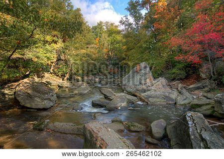 Roacky River In Autumn