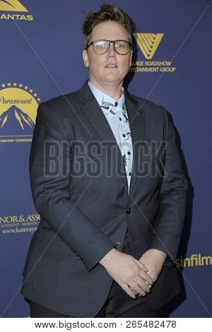 LOS ANGELES - OCT 24:  Hannah Gadsby at the 7th Annual Australians In Film Awards at the Paramount Studios on October 24, 2018 in Los Angeles, CA