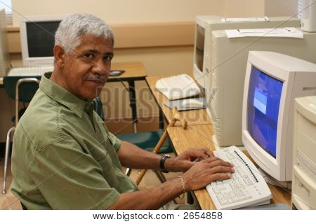Senior Learning Computer